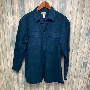 L.L. Bean Men's Chamois Shirt sz XL # T784